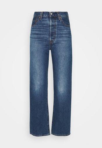RIBCAGE STRAIGHT ANKLE - Straight leg jeans - noe fog