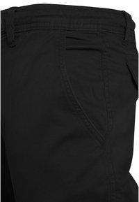 Urban Classics - JOGGING - Cargo trousers - black - 3
