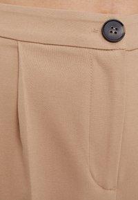 Bershka - Trousers - beige - 4