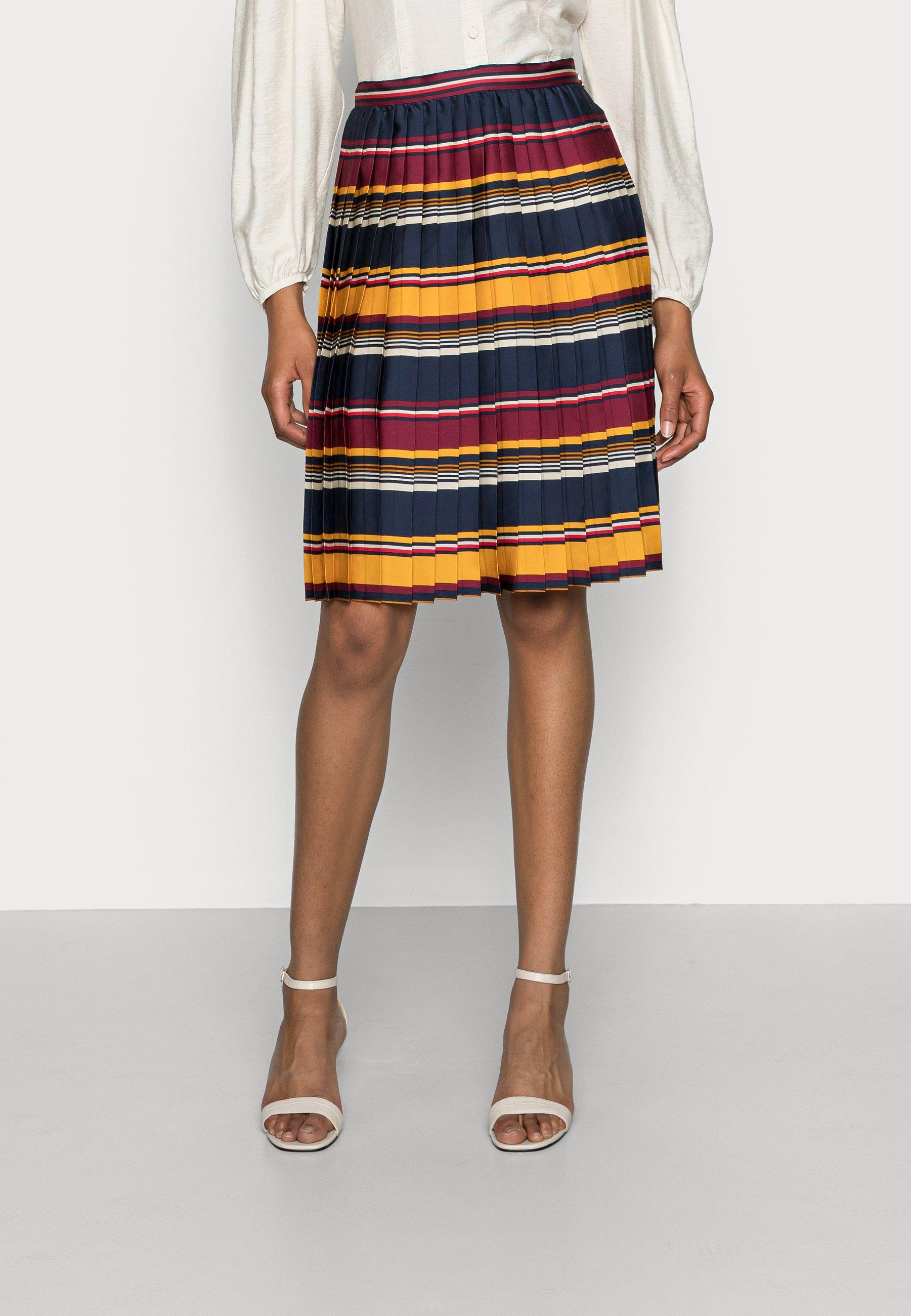 Femme PLEATED KNEE SKIRT - Jupe plissée