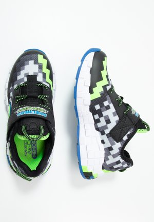 MEGA-CRAFT - Tenisky - black/blue/lime