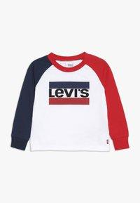 Levi's® - RAGLAN TEE BABY - Långärmad tröja - white - 0