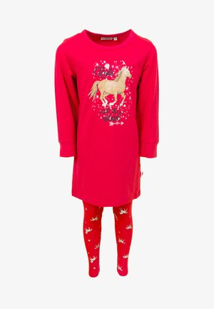 SET - Pyjama set - raspberry