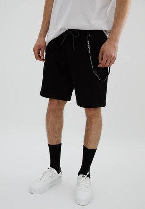 Shortsit - mottled black