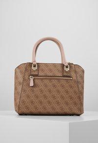 Guess - CANDACE SOCIETY SATCHEL - Handbag - brown - 2