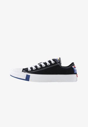 CHUCK TAYLOR ALL STAR OX - Tenisky - black/rush blue/university red