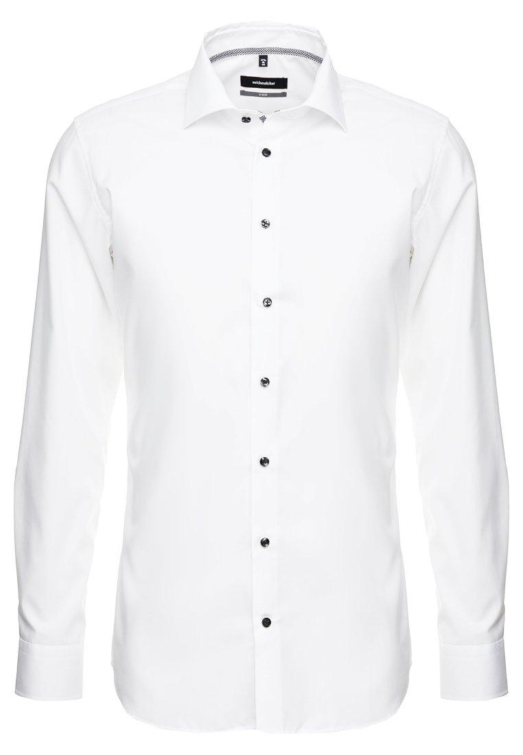 Seidensticker BUSINESS KENT PATCH EXTRA SLIM FIT - Chemise classique - white