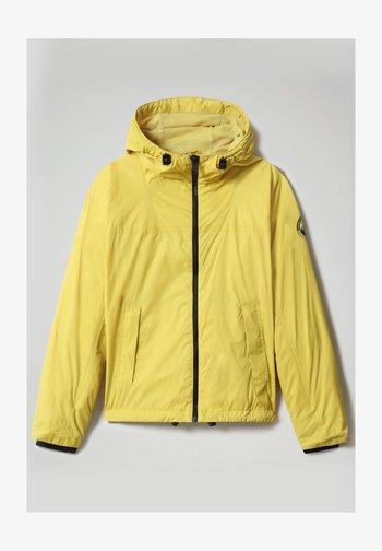 A-CIRCULAR - Light jacket - yellow moss
