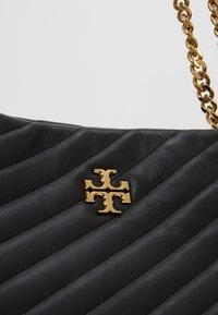 Tory Burch - KIRA CHEVRON TOTE - Handbag - black - 6