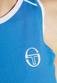 sergio tacchini - PLIAGE TANK - Sports shirt - campanula/white - 4