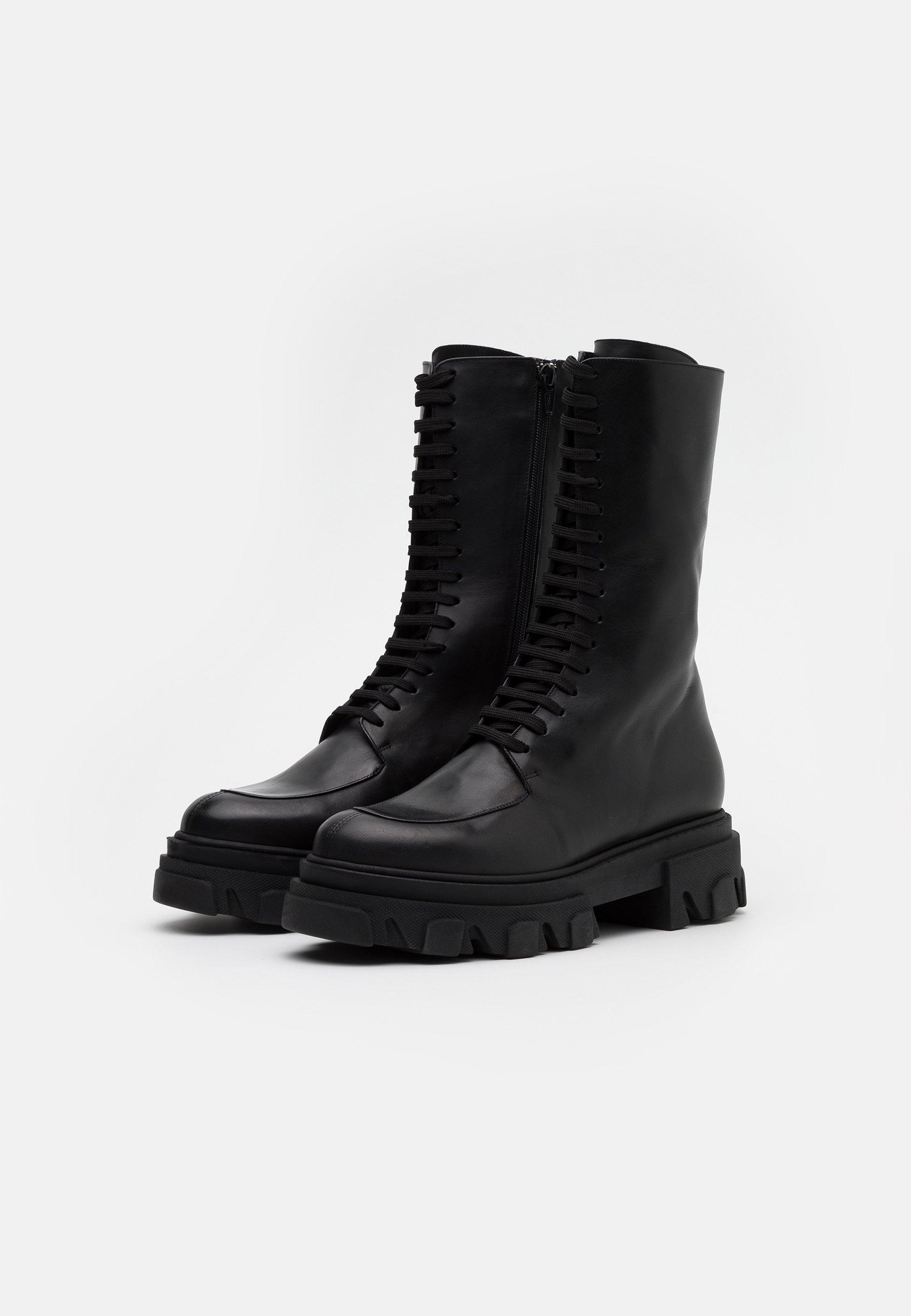 Jonak Demeter - Platåstøvler Black/svart