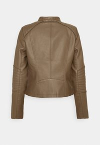 Vero Moda - VMLOVECINDY COATED JACKET - Giacca in similpelle - bungee - 6