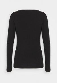 ONLY - BASIC - Long sleeved top - black - 1
