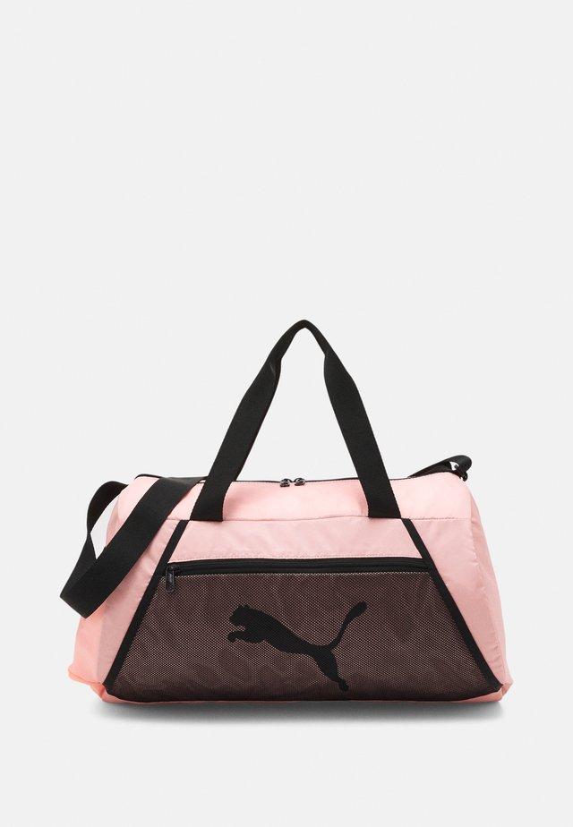 BARREL BAG - Sportovní taška - elektro peach/black