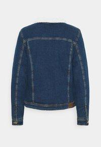 ONLY - ONLTIA JACKET BEST - Denim jacket - medium blue denim - 1