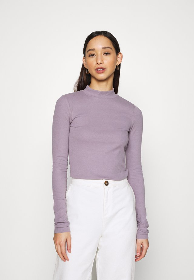 VERA MOCKNECK - Long sleeved top - lilac