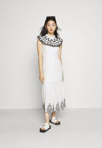 Never Fully Dressed - INDIE EMBROIDERED DRESS - Cocktail dress / Party dress - white - 1
