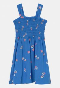 OshKosh - Smocked Floral Dress - Day dress - blue - 0