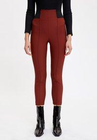 DeFacto - Leggings - Trousers - brown - 0