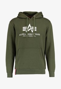 Alpha Industries - Hoodie - dark green - 5