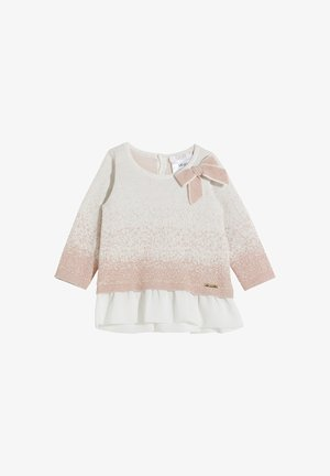 Jumper dress - white/pink