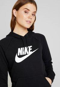 Nike Sportswear - HOODIE - Felpa con cappuccio - black/white - 4