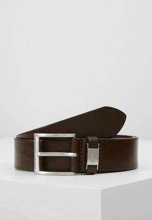 CONNIO - Formální pásek - dark brown