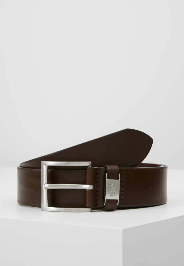 CONNIO - Belt business - dark brown