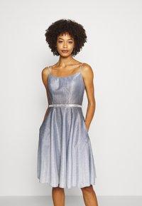 Luxuar Fashion - Robe de soirée - schwarz/silber - 0