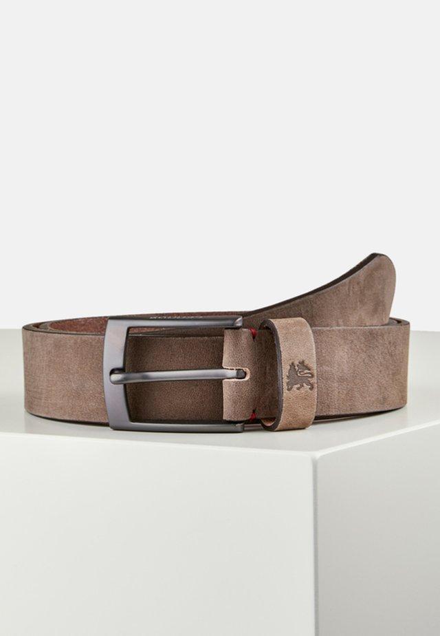 FLYNN - Belt - dark brown