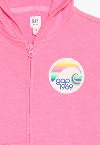 GAP - GIRLS - Zip-up hoodie - neon malibu pink - 4