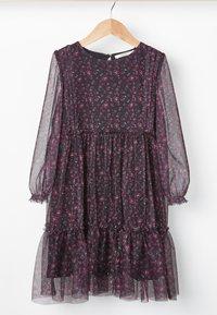 Next - Day dress - purple - 3