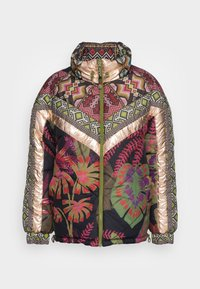 Farm Rio - TROPICAL METALLIC REVERSIBLE PUFFER JACKET - Winter jacket - rauti - 3