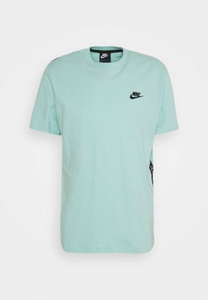 T-shirt med print - turquoise