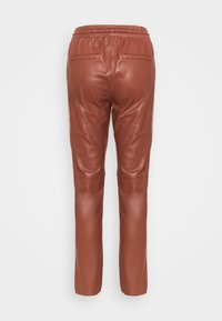 Oakwood - GIFT - Leather trousers - light brown - 7
