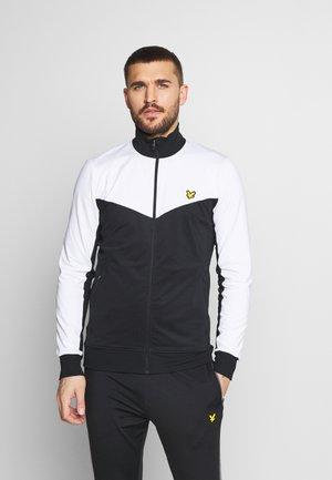 CHEVRON TRACK JACKET - Training jacket - true black