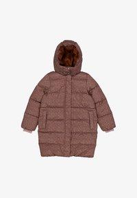 Wheat - Winter coat - powder plum dots - 0