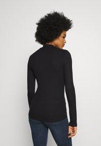 Lee - HIGH NECK LONGSLEEVE - Long sleeved top - black - 2