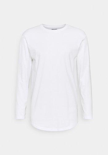 JENOA TEE O NECK  - Long sleeved top - white