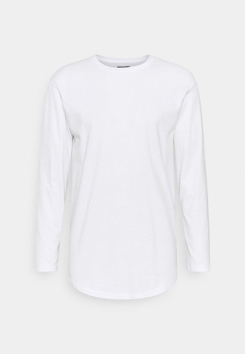Jack & Jones - JENOA TEE O NECK  - Long sleeved top - white