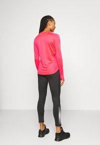 adidas Performance - SPORTS RUNNING LONG SLEEVE - Sports shirt - signal pink - 2