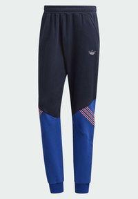 adidas Originals - SPRT ARCHIVE MIXED MATERIAL JOGGINGHOSE - Träningsbyxor - blue - 6