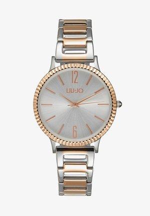 Reloj - silver-coloured/rose gold- coloured