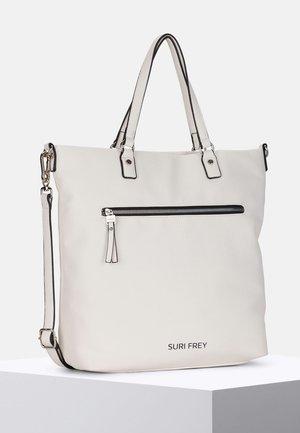 TERRY - Tote bag - white