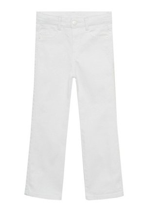FLARE - Jeans a zampa - weiß