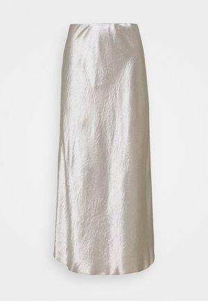 ALESSIO - A-line skirt - platino