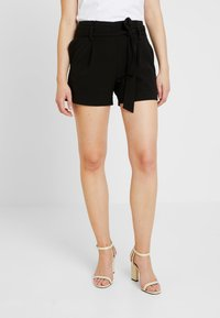 ONLY - ONYTINI PAPERBAG - Shorts - black - 0