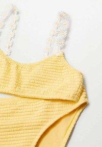 Mango - RITA - Bikini - jaune pastel - 2