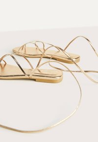 Bershka - Sandals - gold - 5