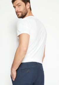 TOM TAILOR - STRUCTURE - Chinos - blue two tone - 4